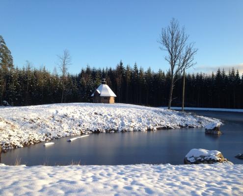 Grillkåtan under vintern